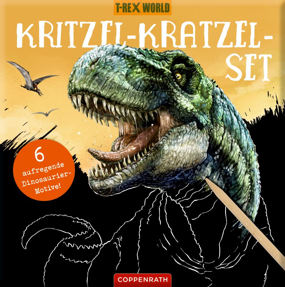 Kritzel-Kratzel-Set - T-Rex World