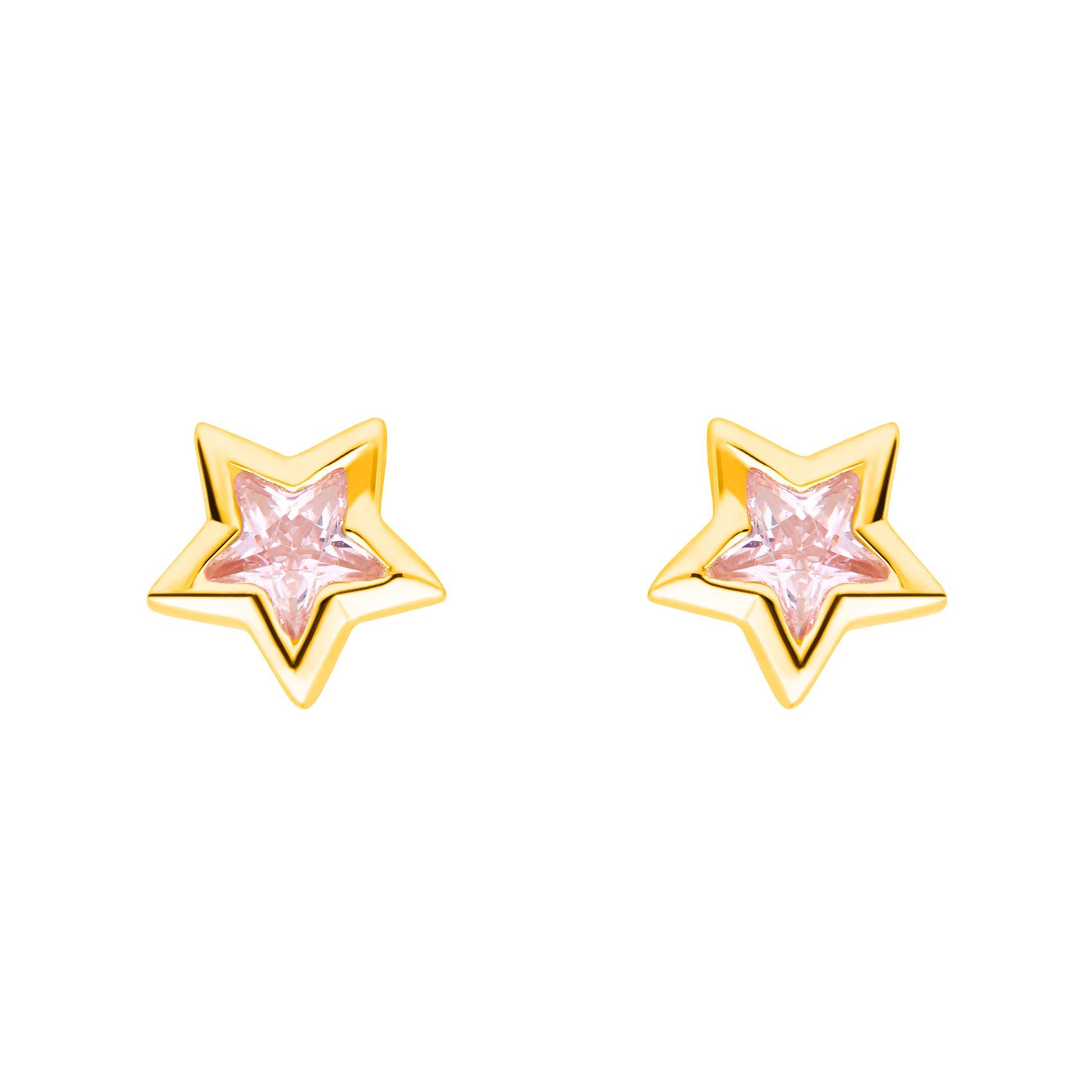 Ohrschmuck Stern Prinzessin Lillifee (Marke Amor)