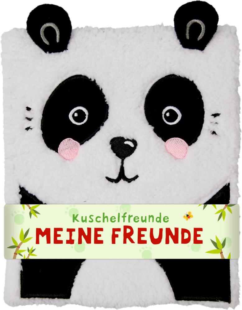 Freundebuch: Kuschelfreunde - Meine Freunde (Panda)