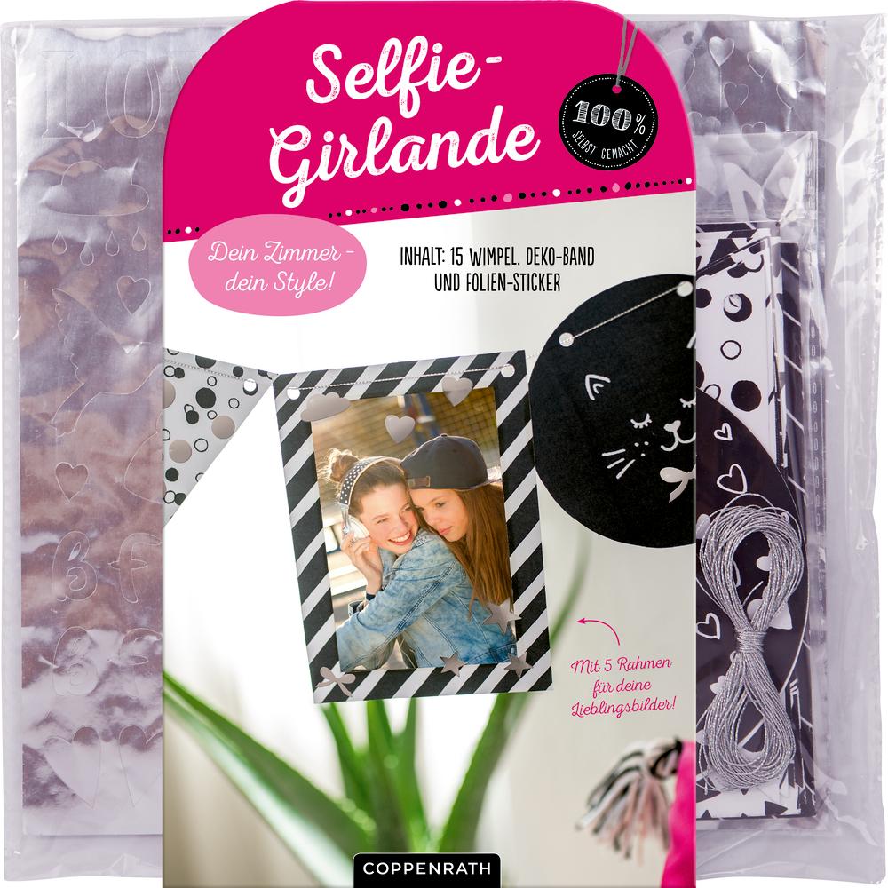 Dein Zimmer/Style! Selfie-Girlande (100% s.g.)