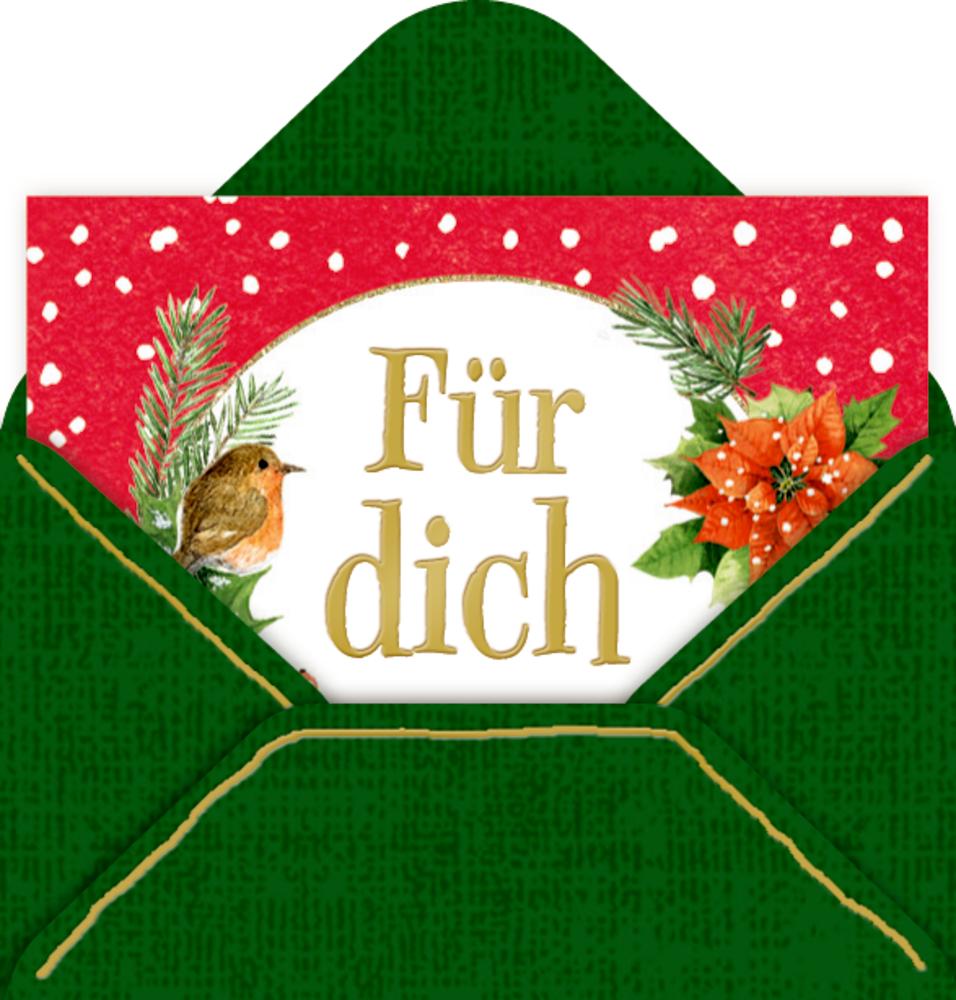 Mini-Briefchen Zauberhafte Weihnachten (Bastin)