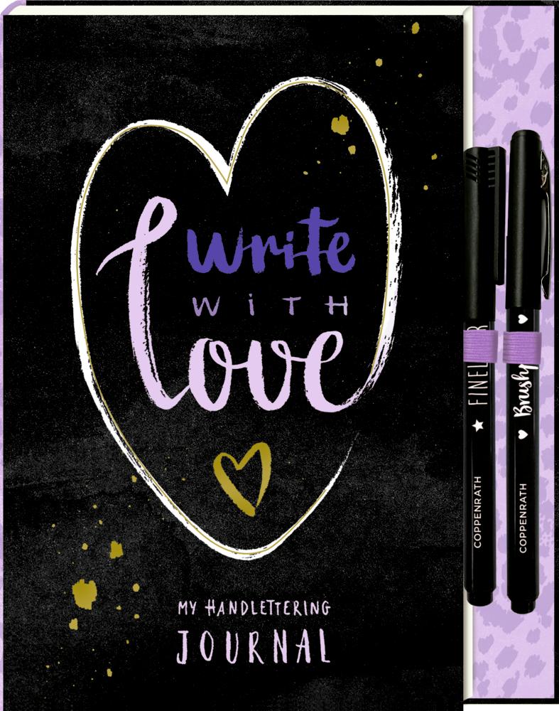 Notizbuch mit Extra - My Handlettering Journal
