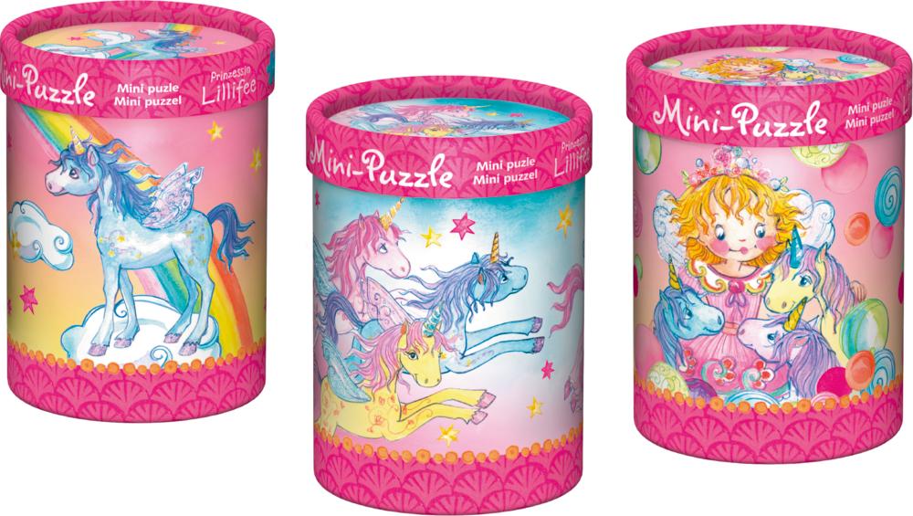 Zauberhaftes Mini-Puzzle Prinzessin Lillifee (40 Teile)