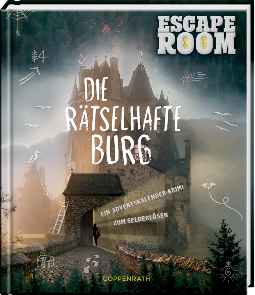 Adventskalenderbuch: Escape Room - Die rätselhafte Burg