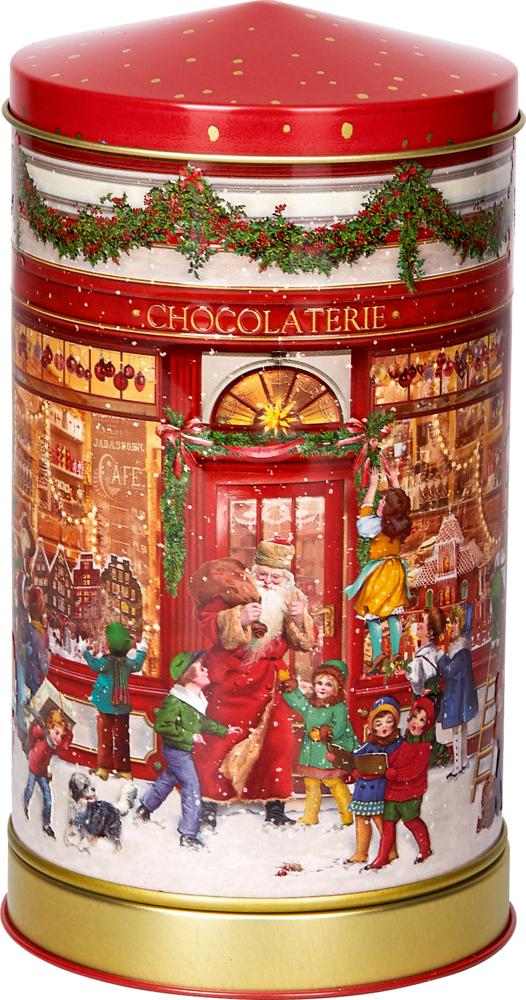 Plätzchendose mit Spieluhr Endlich Weihnachten!