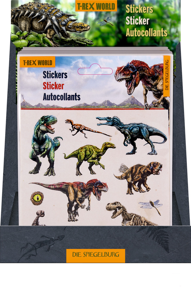 Sticker T-Rex World