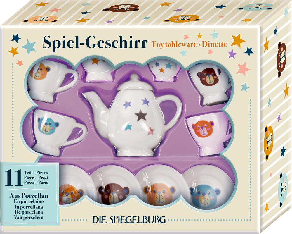 Spiel-Geschirr aus Porzellan - Bärenstarke Weihnachten