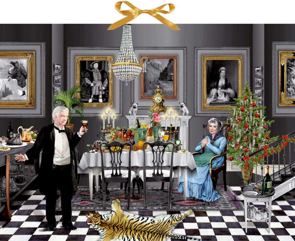 Christmas Dinner for One, Zettel-Adventskalender (B.Behr)