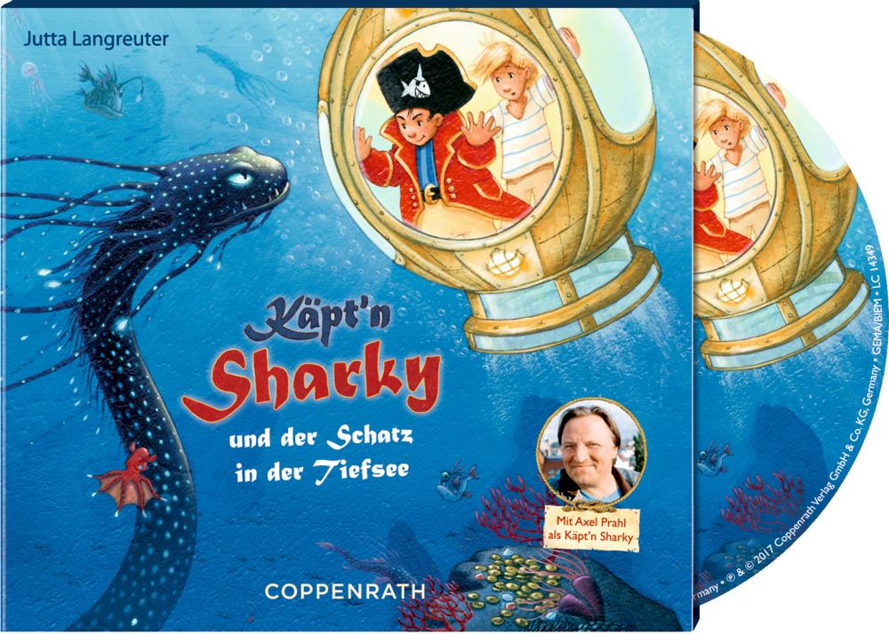 CD Hörspiel: Käpt'n Sharky und der Schatz in der Tiefsee