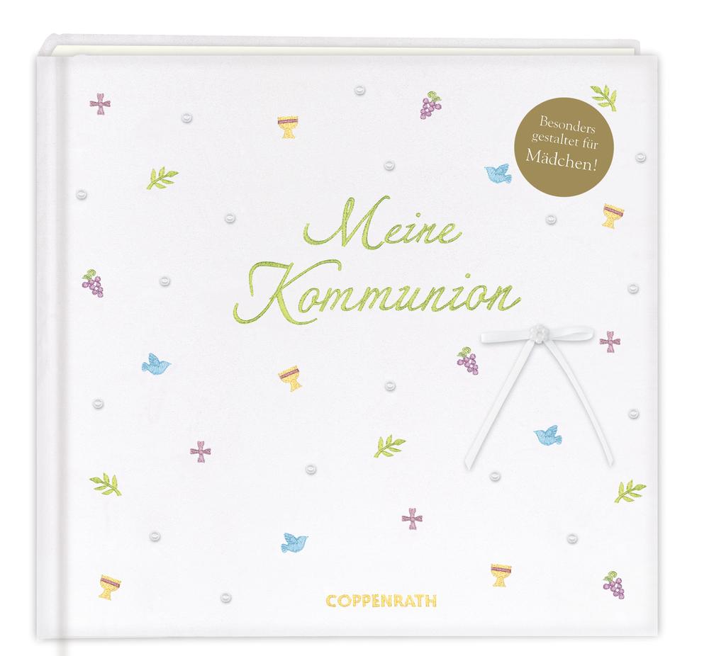"""Eintragalbum Meine Kommunion (Mädchen) """"Festlich"""""""