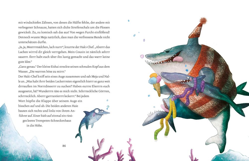 Meja Meergrün rettet den kleinen Eisbären (Bd. 5)