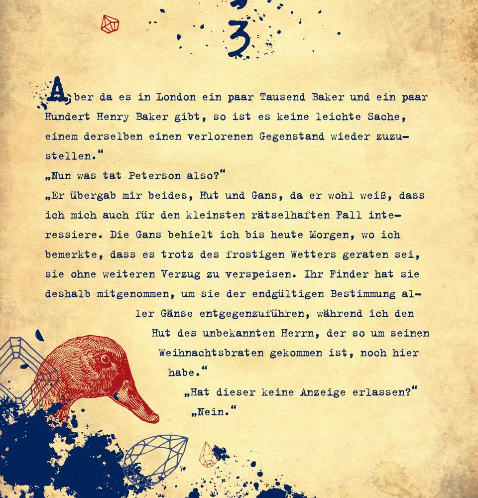 Krimi-Advent mit Sherlock Holmes, Zettel-Adventskalender