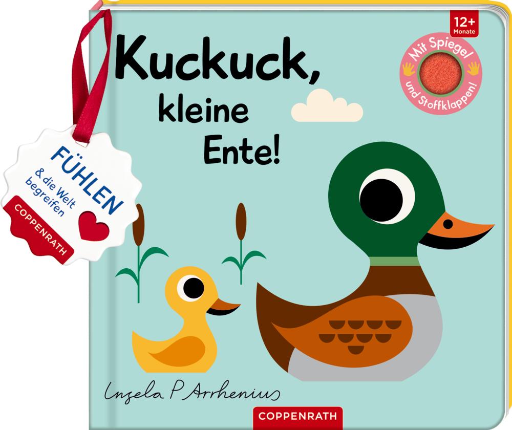 Mein Filz-Fühlbuch: Kuckuck, kleine Ente!