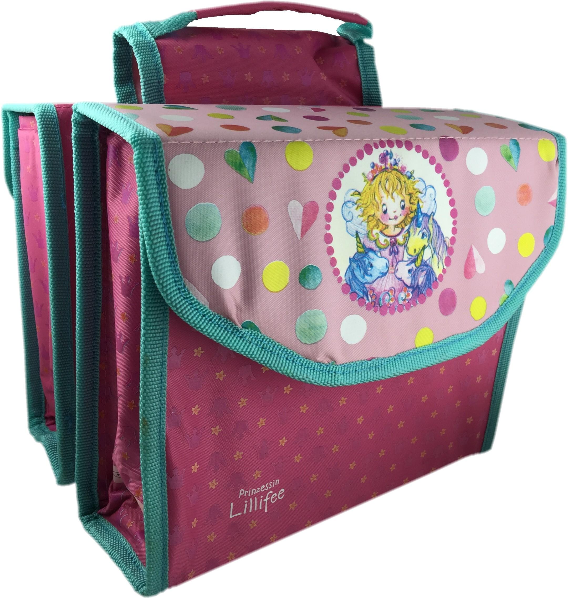 Doppelpacktasche Prinzessin Lillifee (Marke Bike Fashion)