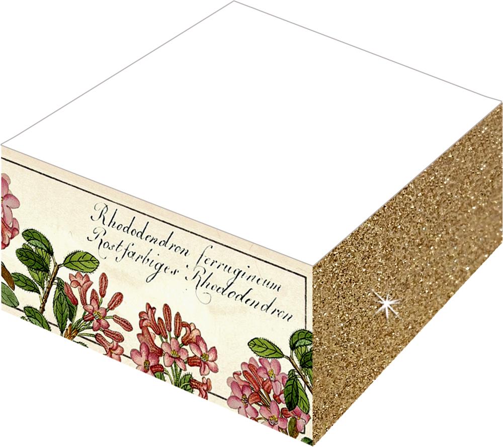 Notizblock Farb- & Glitterschnitt - Sammlung Augustina