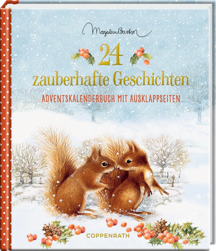 Adventskalenderbuch: Zauberhafte Geschichten (M. Bastin)