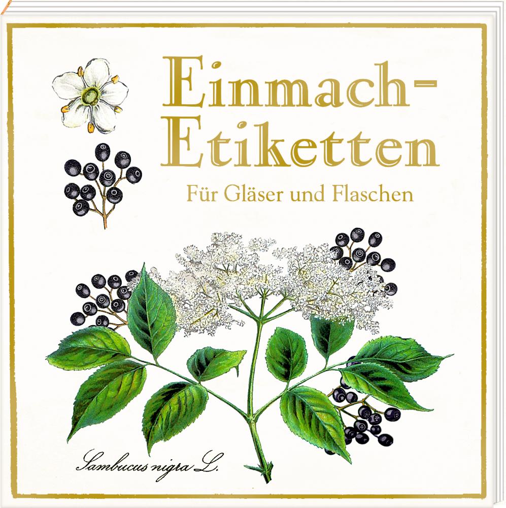 Etikettenbüchlein: Einmach-Etiketten (Sammlung Augustina)