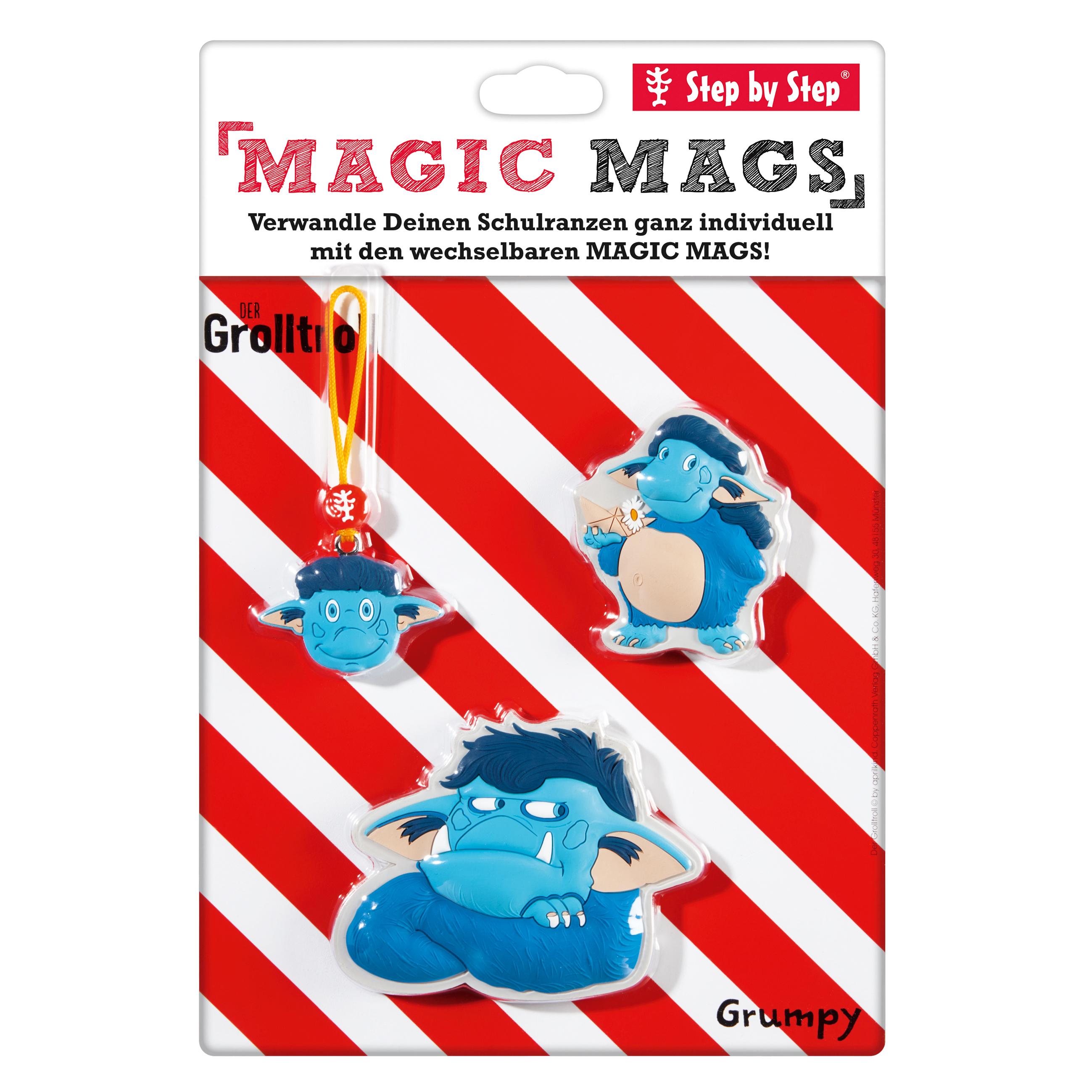 MAGIC MAGS Grolltroll (für Ranzen von Step by Step)