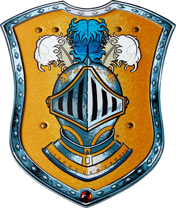 Schild, Geheimnisvoller Ritter - LIONTOUCH