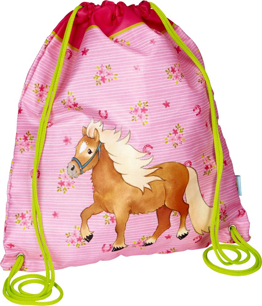 Turnbeutel rosa  Mein kleiner Ponyhof