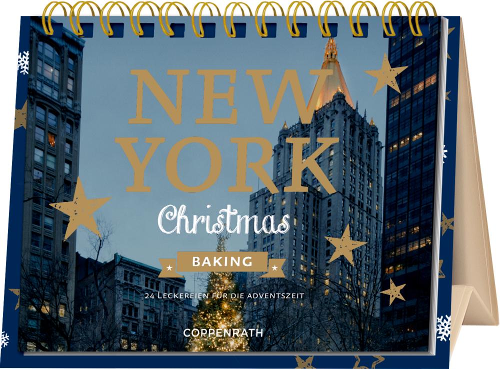 New York Christmas Baking, Rahmen-Tisch-Adventskalender