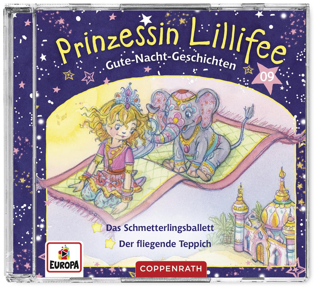 CD Hörspiel: Prinzessin Lillifee - Gute-Nacht-Geschichten (Band 9)