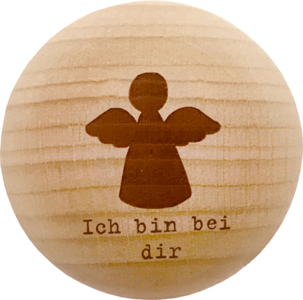 """Holz-Handschmeichler """"Ich bin bei dir"""" Dein Schutzengel"""