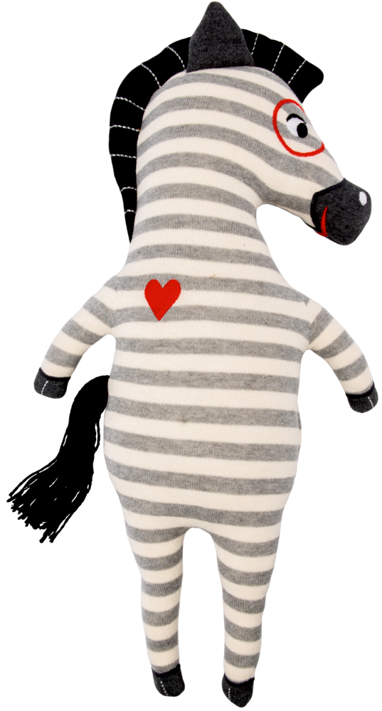Großes Kuschel-Stricktier Zebra, Meine 1. Lieblingsstücke