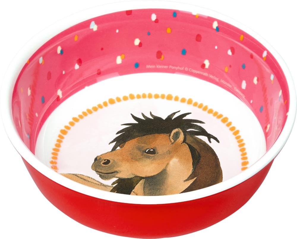 Melamin-Schale Mein kleiner Ponyhof
