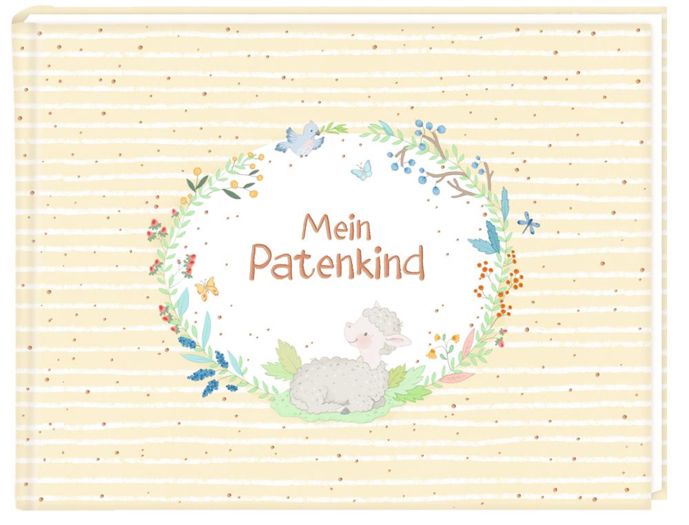 Erinnerungsalbum Mein Patenkind (Schäfchen)