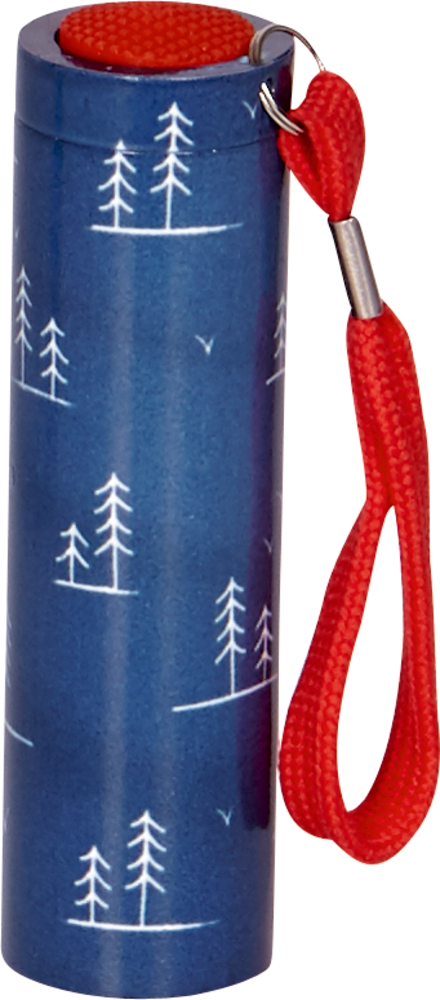 blaue Taschenlampe (mit 9 LED's) Reisezeit