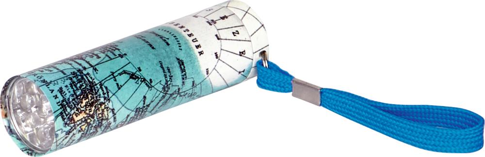 Karte, Taschenlampe (mit 9 LED's) Reisezeit