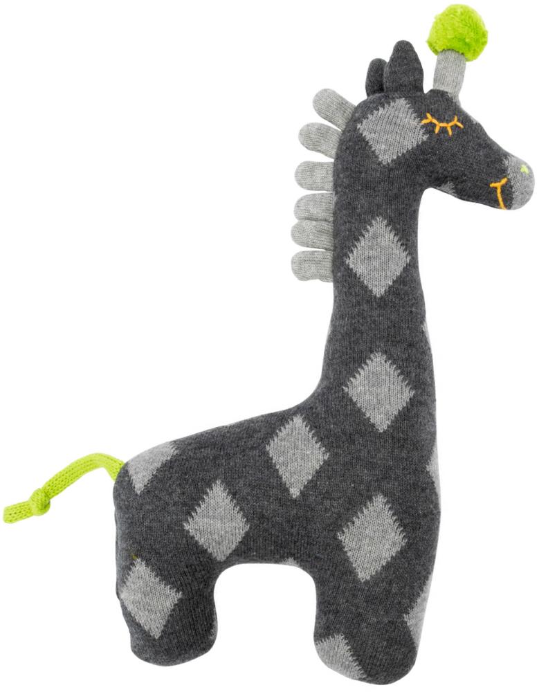 Kleines Kuschel-Stricktier Giraffe grau, Meine 1. Lieblingsstücke