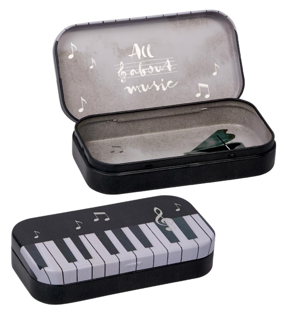 Klavier, Aufbewahrungsdose All about music