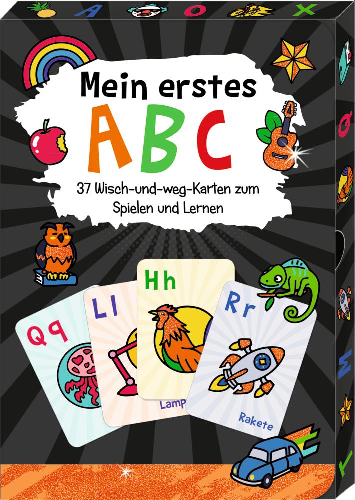 Mein erstes ABC - Wisch & Weg-Wendekarten Funny Patches