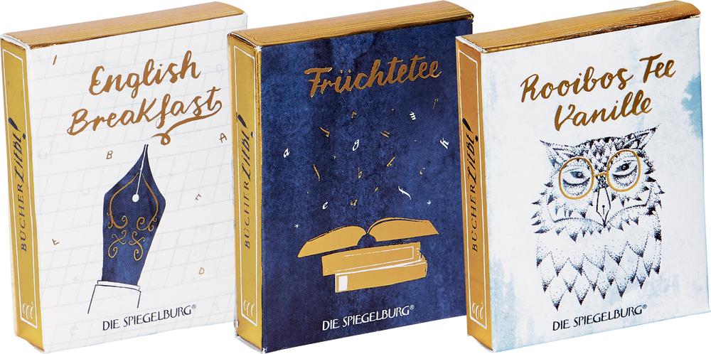 Tee-Variation BücherLiebe