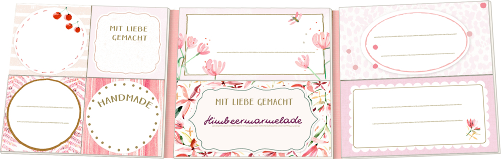 Einmach-Etiketten - All about rosé