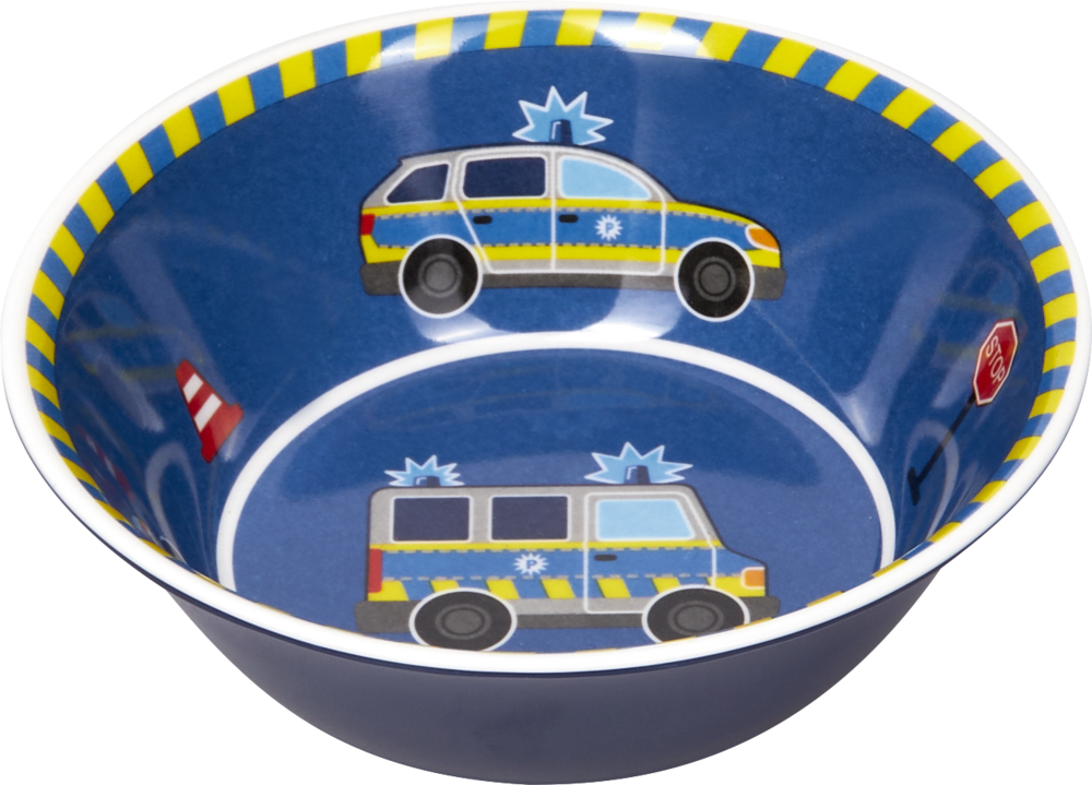 Melamin-Schale Polizei (Wenn ich mal groß bin)
