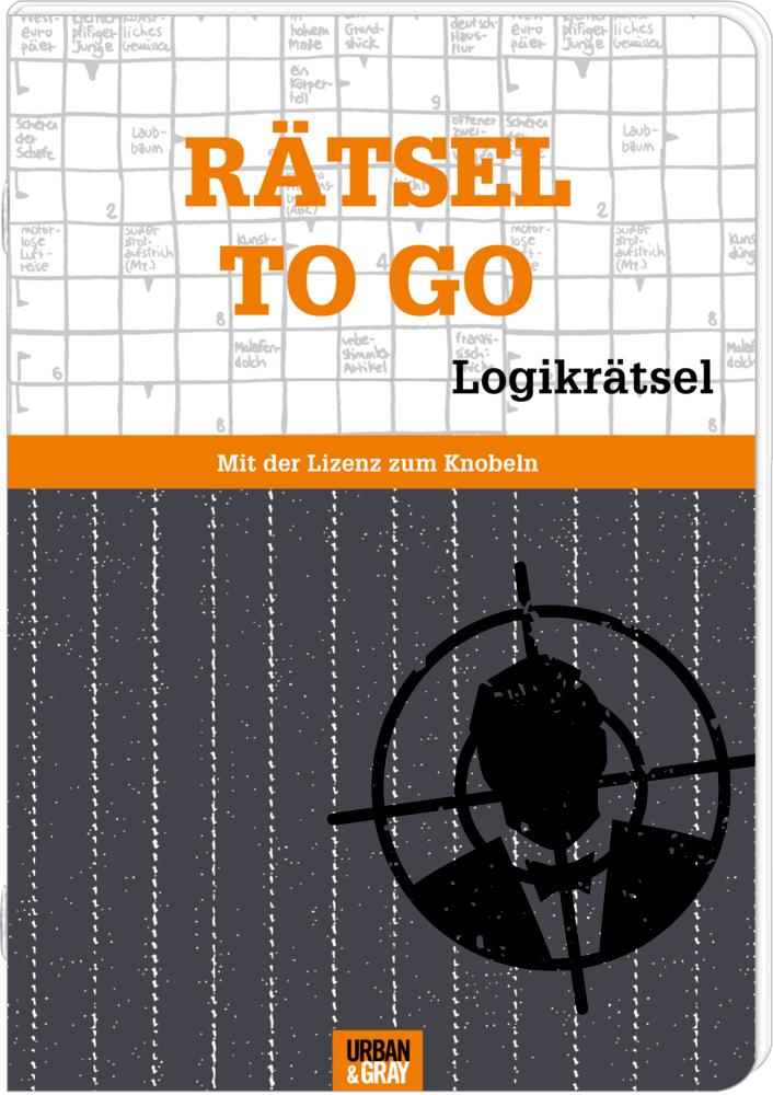 Rätselheft: Rätsel to go - Logikrätsel (Urban&Gray)