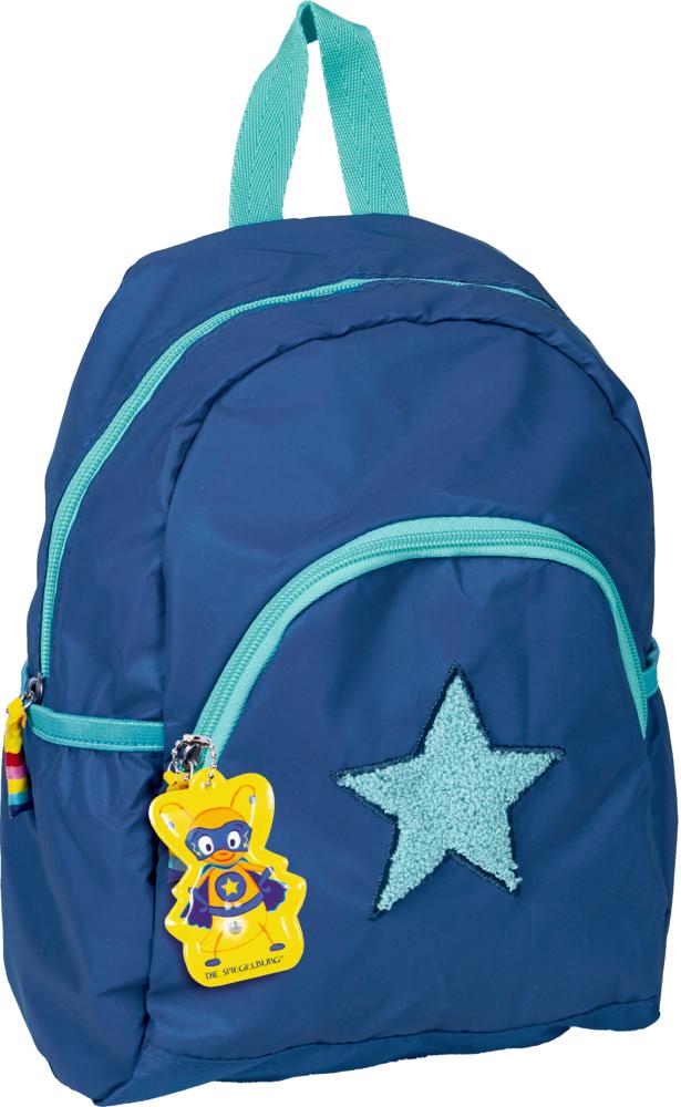 Rucksack blau  Glühwürmchen