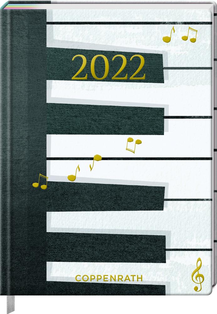 Jahreskalender: Mein Jahr 2022 - Piano (All about music)