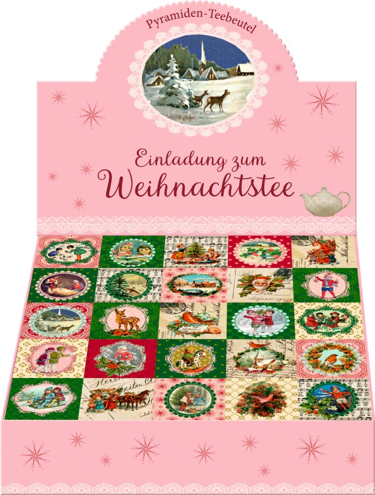 Einladung zum Weihnachtstee, Tee-Adventskalender