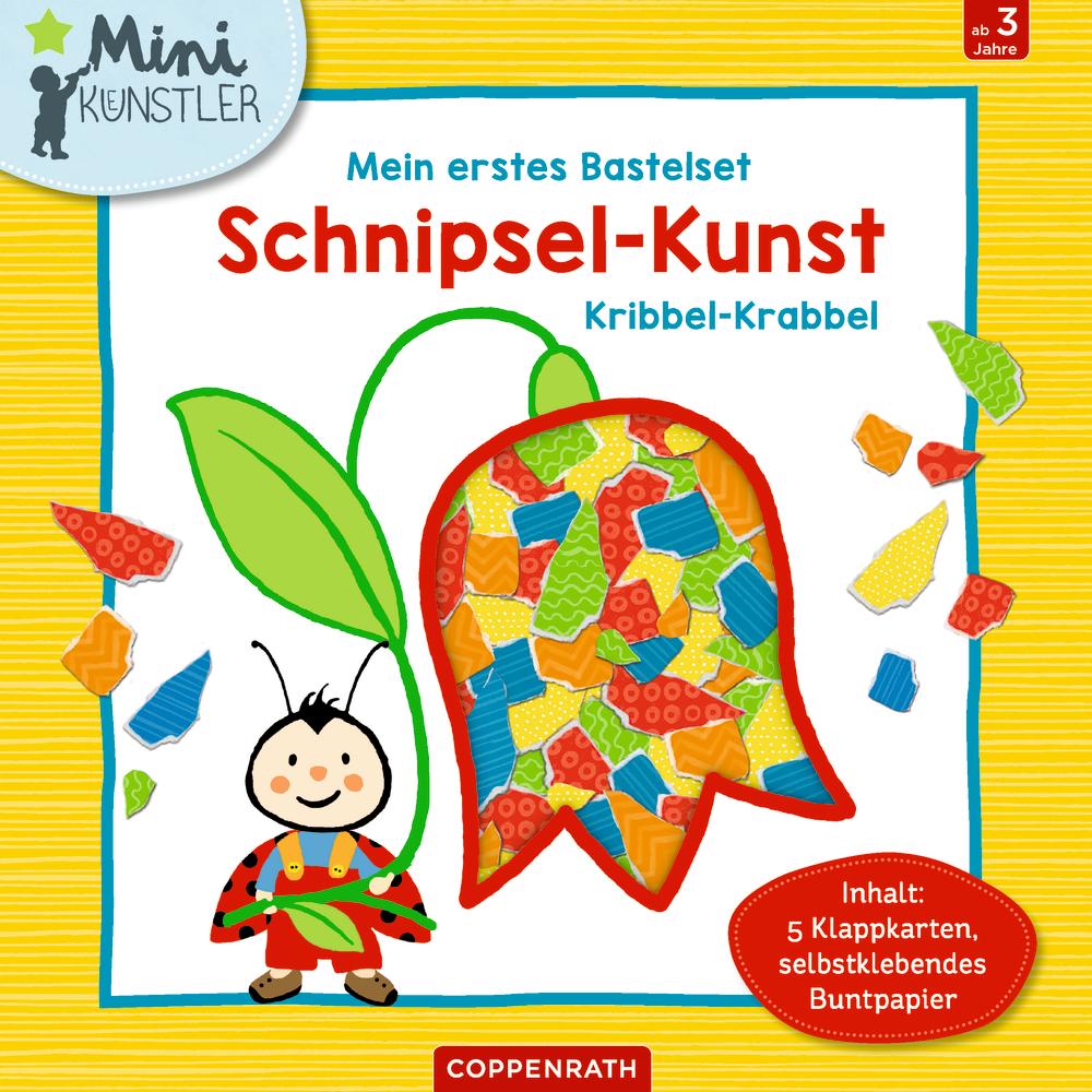 Mein 1. Bastelset: Schnipsel-Kunst Kribbel-Krabbel (Mini-Künstler)