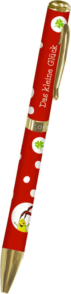 roter Kugelschreiber - Das kleine Glück