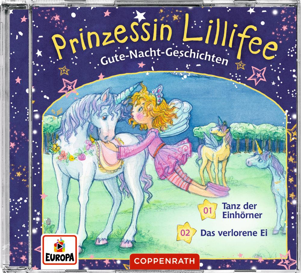 CD Hörspiel: Gute-Nacht-Geschichten mit Prinzessin Lillifee (CD 2)