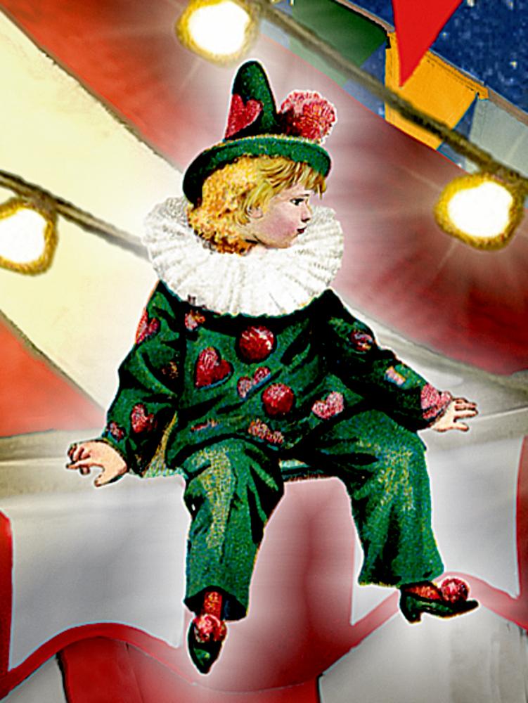 Ein Besuch im Weihnachtszirkus, Wand-Adventskalender (Behr)