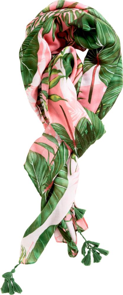 "Sommerschal ""I love my Jungle"" (ca.90x180 cm) Garden"