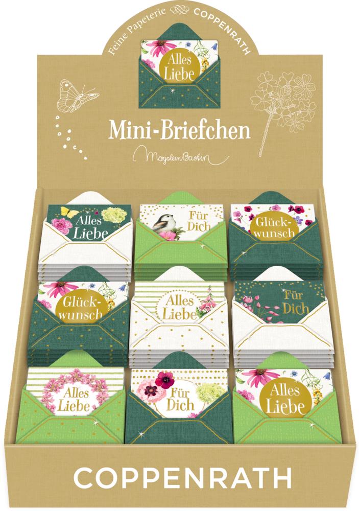 Mini-Briefchen Zauberhafte Blumenwiese (Bastin)