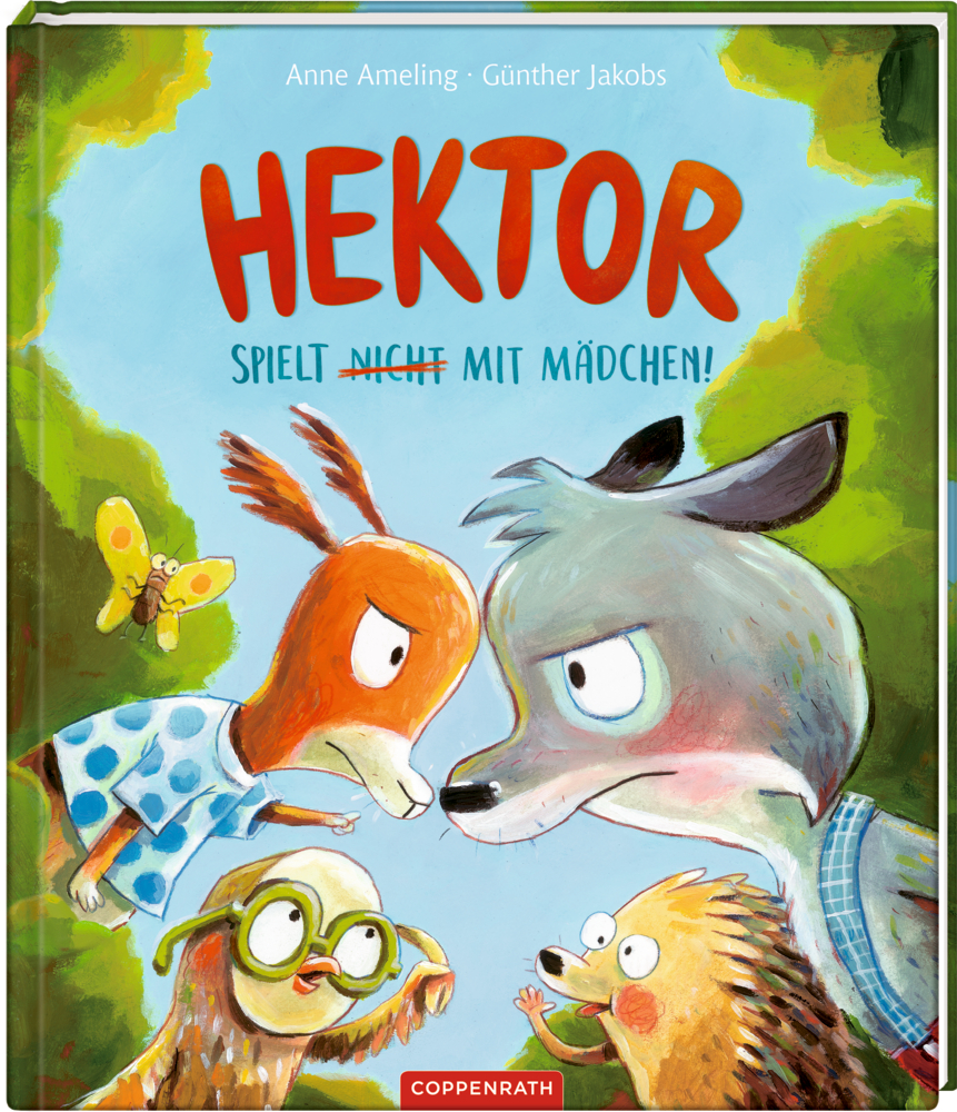 Hektor spielt (nicht) mit Mädchen!