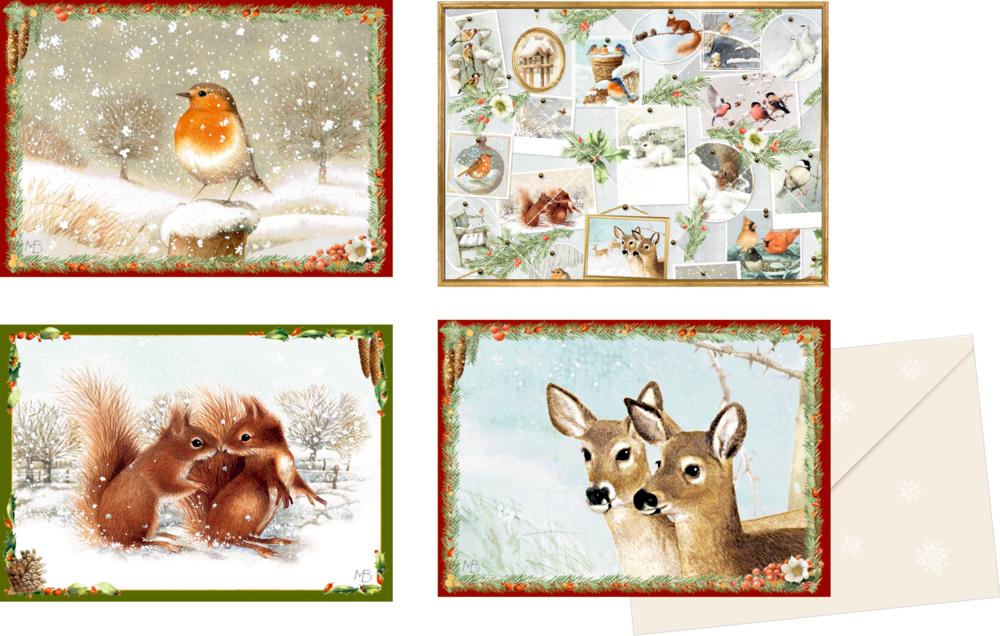 Marjoleins Weihnachtsgrüße, Mini-Adventskalender